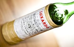 I've been making a lot of cocktails with Maraschino liqueur - Luxardo is the best-known brand.  Distilled from crushed Marasca cherry pits. $30