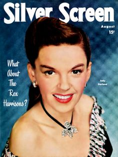 Judy Garland on the cover of Silver Screen. Golden Age Of Hollywood, Vintage Hollywood, Classic Hollywood, Hollywood Style, Star Magazine, Movie Magazine, Old Magazines, Vintage Magazines, Hollywood Fashion