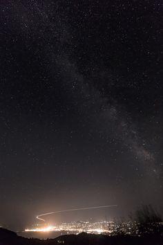 Take Off Under The Milky Way - #corfu #kerkyra #ionianislands #greece #greeceislands  #travel #traveller  #traveling #tourism #tourist #landscape #landscapes #photography #photographer #sky #stylianosphotography #corfuartphoto #nightphotography #milkyway #nightsky #starsinthesky #galaxy #monrepocorfu #nightphotography