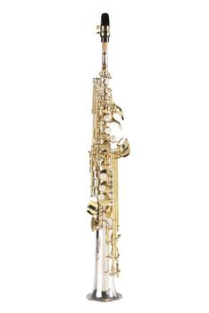 (Limited Supply) Click Image Above: Jupiter Intermediate Soprano Saxophone Silver Plated Straight And Curved Necks