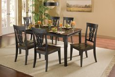 Hillsdale Furniture 5395DTBC Lafayette 5 PC Dining Set
