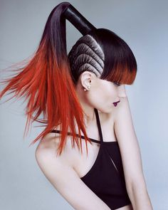Discover the whimsical world of the globally acclaimed Rush Artistic Team. Wondrous, awe-inspiring looks that speak the language of haute couture hairdressing. Impactful, stimulating nuances, displaying deep and passionate colors, hiding and seeking.