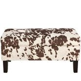 Found it at Wayfair - Chamberlin Polyester Upholstered Storage Bedroom Bench
