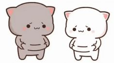 The perfect Chibi Cat Cute Animated GIF for your conversation. Discover and Share the best GIFs on Tenor. Cute Bear Drawings, Cute Animal Drawings Kawaii, Cute Cartoon Drawings, Cute Anime Cat, Cute Cat Gif, Cute Cats, Cute Love Pictures, Cute Love Gif, Cute Cartoon Pictures