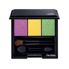 Shiseido Makeup Eye Color Trio in Tropicalia $33 at Sephora. Mardi Gras colors!