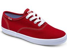 Keds: Champion CVO (Red) Toddler/Little Kid Canvas sneaker for Kids