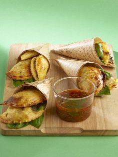 Empanadas au Confit de Canard et Tomates Confites
