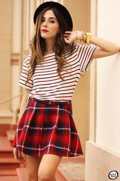 plaid & stripes <3