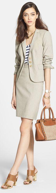 Halogen Jacket  Skirt
