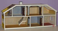 Vintage Lundby Dollhouse 1970s Stockholm Luxury Villa Never Lived in w Orig Box | eBay