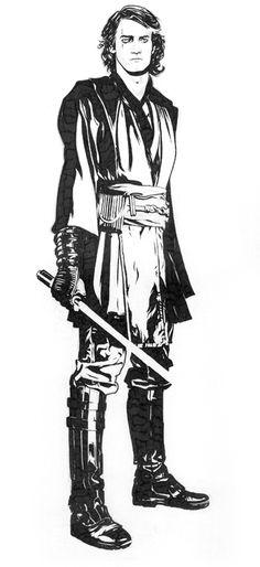 ✭ Anakin Ink by Jeff Spokes