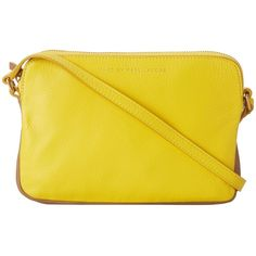 Marc by Marc Jacobs Sophisticato Dani Crossbody ($115) ❤ liked on Polyvore featuring bags, handbags, shoulder bags, purses, canary yellow multi, yellow crossbody, hand bags, marc by marc jacobs handbags, purse shoulder bag and shoulder strap bags
