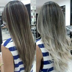 """@mulher_cheirosa's photo: """"Cabelo perfeito com a combinação de macro e micromechas, um mix entre suavidade e o glamour! Feito por @kazuonoto. #blond #perfection #MCdesejo"""""""