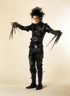 Johnny Depp as Edward Sissorhands, costume design by Colleen Atwood
