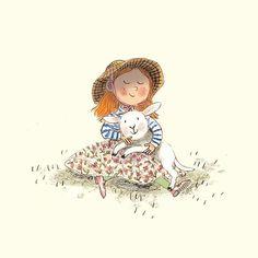 Mary had a little lamb 🌸🐏🌸 #springlambs #springlamb #farmanimals #artistsoninstagram #lambsofinstagram #illustration #illustratorsoninstagram #maryhadalittlelamb #childrensillustration #kidlitart #kidlit #countrygirl #countryside #countryliving #lamb #countrylife #countrystyle #farmlife #farm #easter #easterlamb #easterlambs #spring #springlamb #springlambs