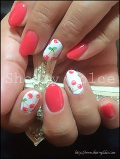 34 Pretty summer nail art 2015