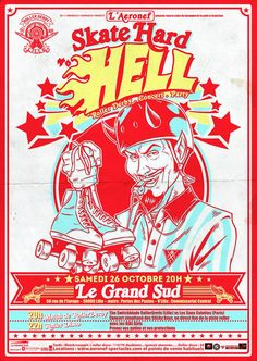 Skate Hard To Hell ! #rollerderby