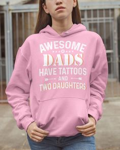 Awesome Dads Have Tattoos And Two Daughters - Light Pink tattoo antebrazo, cat tattoo, nature tattoo #inktattoo #tattoolove #tattoodesign, dried orange slices, yule decorations, scandinavian christmas Time Tattoos, Word Tattoos, Light Pink Tattoo, Farmer Tattoo, Chemistry Tattoo, Harry Potter Tattoos, Hooded Sweatshirts, Hoodies, Yule Decorations