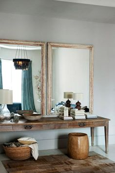 a dressing area in a Soho loft | Ditte Isager