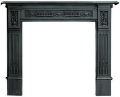 Black Fireplace Surround   Home > Fireplace Surrounds > Cast Iron Fire Surrounds