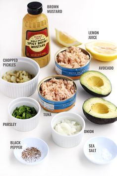 Avocado Tuna Salad: so easy to make in just 5 minutes!