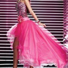 Like New Studio17 High/Low Prom Dress