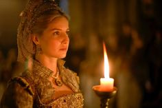 Jane was lower in both rank and education than his two former wives (actually all except maybe Catherine Parr). Description from tudors.wikia.com. I searched for this on bing.com/images