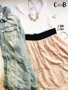 This is my favorite outfit currently in my shop! #flatlay #lularoelola #lularoetank #lularoe #datenight
