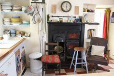 Elisabeth Luard's kitchen