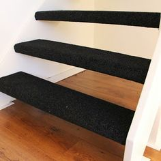 Open trap met tapijt tapijt op trappen pinterest met - Corridor tapijt ...