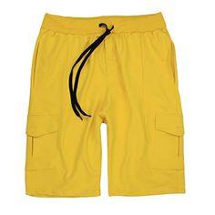 Cargostyle: modisch und bequem 5 Taschen mit Kordelzug 90% Baumwolle 10% Polyester Modellnummer LV-2011 Gelb Shorts Style, Summer Pants, Trends, Yellow, Swimwear, Clothes, Ebay, Fashion, Summer Shorts