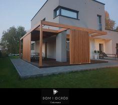 Backyard Patio Designs, Pergola Designs, Pergola Patio, Pergola Plans, Privacy Fence Designs, Privacy Plants, Architecture Visualization, Garden Landscape Design, Exterior Design