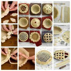 Decoraçao massas tortad