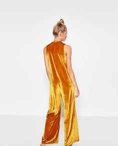 Image 6 of VELVET JUMPSUIT from Zara