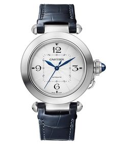 #Watches Cartier Pasha, Watches, Digital, Leather, Accessories, Women, Products, Clock Art