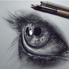 Pencil drawings, pencil drawing tutorials, art tutorials, drawing eyes, p. Eye Pencil Drawing, Realistic Pencil Drawings, Pencil Drawing Tutorials, Art Tutorials, Cool Drawings, Drawing Eyes, Eyeball Drawing, Human Drawing, Beautiful Drawings