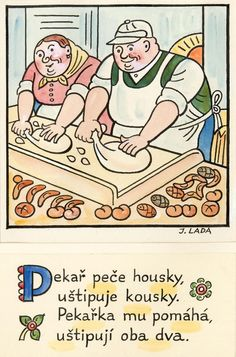 Czech Republic, Inspire Me, Illustrators, Clip Art, Comics, Retro, Folklore, Books, Artist