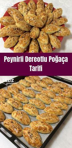 Peynirli Dereotlu Poğaça Tarifi Steak Fajitas, Turkish Delight, Pastry Cake, Turkish Recipes, Sweet And Salty, Iftar, Almond, Cereal, Food And Drink