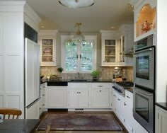 U Shaped Kitchen Design, Pictures, Remodel, Decor and Ideas - page 9