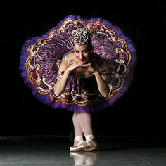 Emily Gutshall as the Sugar Plum Fairy in The Nutcracker, 2005, photographed by Chris Russell, The Columbus Dispatch.