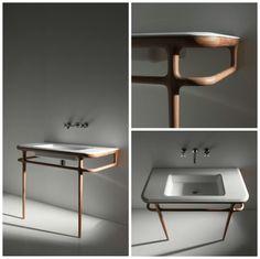 Armonia bathroom console by Antonio Lupi