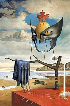 "Wolverine Appreciation Month Produces ""Classic"" X-Artwork - inspired by the work of Salvador Dali."