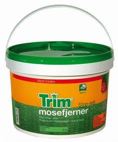 Trim Strø-Lett Mosefjerner Bayer Garden kr 145,-. Kampanje Drammen! Bayer Garden, Coffee Cans, Canning, Home Canning, Conservation