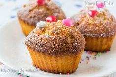 Enjoy this simple yet delicious cupcakes and savour in the rich legacy of Iranian café from the confines of your home