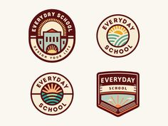 Everyday School [logo concepts - still in progress]
