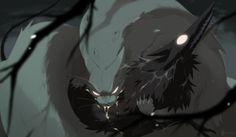 Soft paws and Nether blood by Novere.deviantart.com on @deviantART
