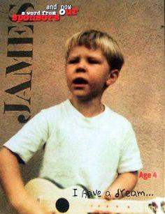 very young James Hetfield