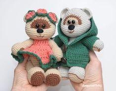 Amigurumi honey teddy bears in love - FREE PATTERN