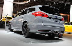 2015 Ford Focus ST Estate, a turbodiesel with a 2.0L oil-burner cranking out 183 hp and 295 lb.-ft. of torque. . Ford will sell you a choice of hot hatchbacks in the Fiesta ST and Focus ST. 10 wagons we saw in Paris that we really want but cant buy