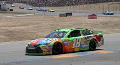 Kyle Busch won the NASCAR race Sunday night at Homestead. With that victory he also won the Sprint Cup Series championship.